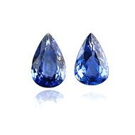 Ceylon Blue Sapphire Heated Pair