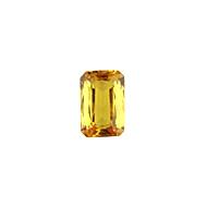 Yellow Sapphire Beryllium Heated