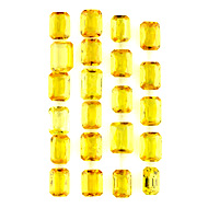 Yellow Sapphire Beryllium Heated Lot