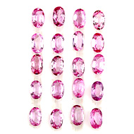 Pink Sapphire Heated Calibrated Lot