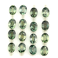 Green Sapphire Calibrated Lot