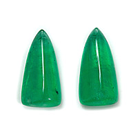 Zambian Emerald Pair
