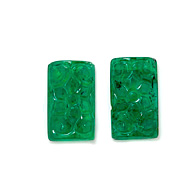 Zambian Emerald Carving Pair