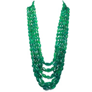 Emerald Tumble Beads