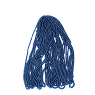 Blue Sapphire Faceted Rondelle Beads