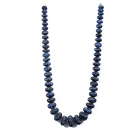 Blue Sapphire Carving Beads