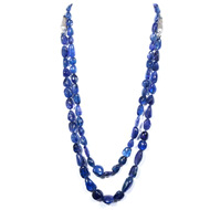 Tanzanite Tumble Beads