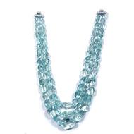 Aquamarine Tumble Beads