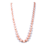 Pink Coral Carving Beads