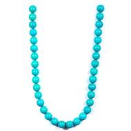 Iranian Turquoise Rondelle Beads
