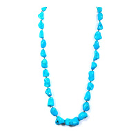 Turquoise Uneven Beads