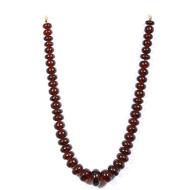 Garnet Rondelle Beads