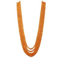 Spessartite  Garnet Rondelle Beads