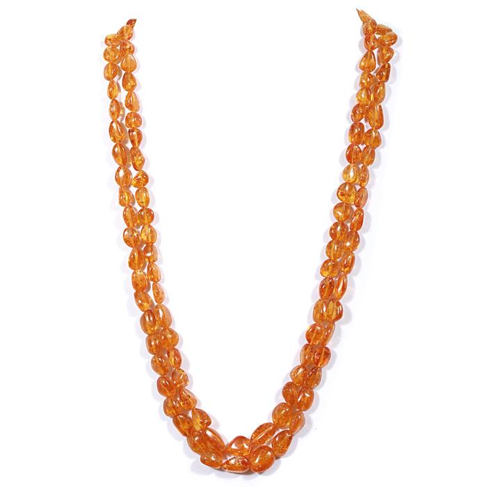 Spessartite  Garnet Tumble Beads