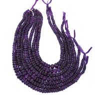 Amethyst Rondelle Beads