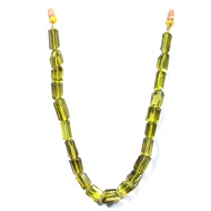 Lemon Quartz Pipe Beads