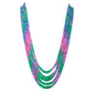 Multi Precious Carving Beads