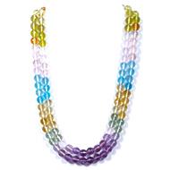 Multi Semi Precious Round Beads