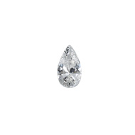 Natural Diamond Pear cut
