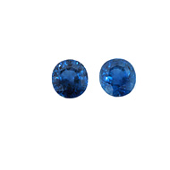 Burmese Blue Sapphire Unheated Pair