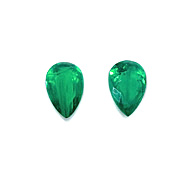 Colombian Emerald Pair