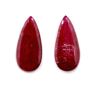 Mozambique Ruby Unheated Cabochon