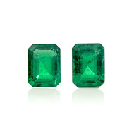 Zambian Emerald Pair