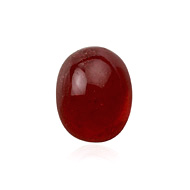 Ruby Fracture Filled Cabochon